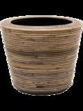 Drypot Rattan Round Grey 6MND01813