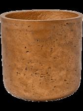 Charlie Copper Rough D:26 cm H:24 cm
