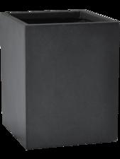 Basic Cube Dark grey D:15 cm H:20 cm