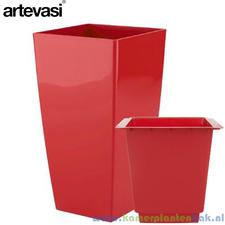 Artevasi Piza 40x40 cm ↨ 78 cm rood