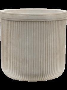 Vertical Rib Cylinder 6VRCB0030 Beige